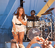 Alicia Keys on Summerstage in New York City