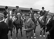 Aga Khan Trophy..1979..10.08.1979..08.10.1979..10th August 1979..The annual staging of the Aga Khan Cup took place  at the Royal Dublin Showgrounds, Ballsbridge,Dublin today.It was the first time since 1937 that Ireland won the trophy outright. The winning Irish team comprised of Paul Darragh,Capt Con Power,James Kernan and Eddie Macken..Image of  Paul Darragh,Capt Con Power,James Kernan and Eddie Macken after receiving the trophy