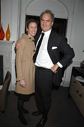 CHARLES & SYDNEY FINCH at a tea party to celebrate the launch of Buccellati's new London store held at 33 Albemarle Street, London on 13th February 2007.<br /><br />NON EXCLUSIVE - WORLD RIGHTS