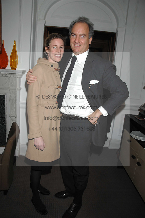 CHARLES &amp; SYDNEY FINCH at a tea party to celebrate the launch of Buccellati's new London store held at 33 Albemarle Street, London on 13th February 2007.<br />
