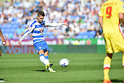 Reading's Oliver Norwood during the Sky Bet Championship match between Reading and Milton Keynes Dons at the Madejski Stadium, Reading, England on 22 August 2015. Photo by Mark Davies.