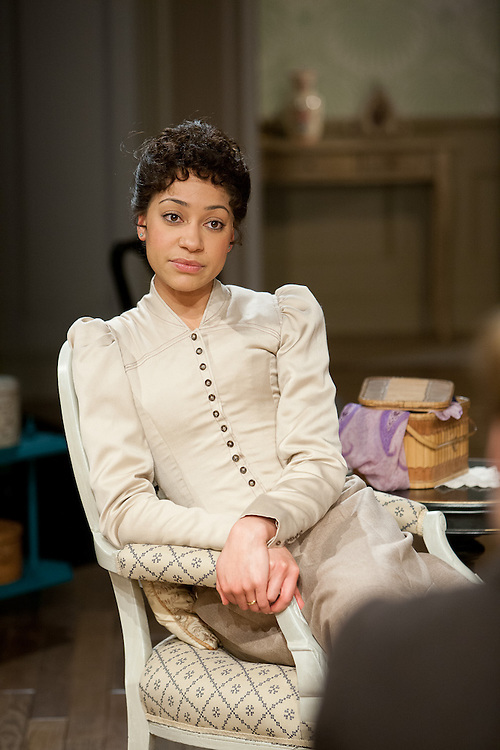 Royal Exchange Theatre production of A Doll's House by Henrik Ibsen.Version.by Bryony Lavery. Directed by Greg Hersov..Cast: Cush Jumbo, David Sturzaker, Amy Cameron, Kelly Hotten, Tessa Bell-Briggs, Jamie De Courcey, Jack Tarlton...Children (3 teams):Joel Danziger, Raffi Day, Lily Blossom Tait, Matthew Allen , Alfie Moulson, Caitlin Fraine,Peter Dine, McKenzie Kai Clarke, Shenara McGuire