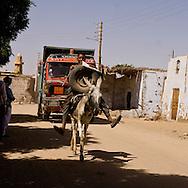 Farres village of the Nile river   Farres  Egypt    /  village de Farres. au bord  du  Nil    Egypte