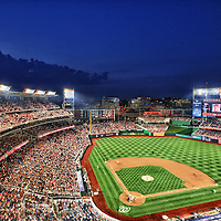 02 August 2012:  An 8 frame HDR image shot at Nationals Park in Washington, D.C. where the Washington Nationals defeated the Philadelphia Phillies, 3-0.
