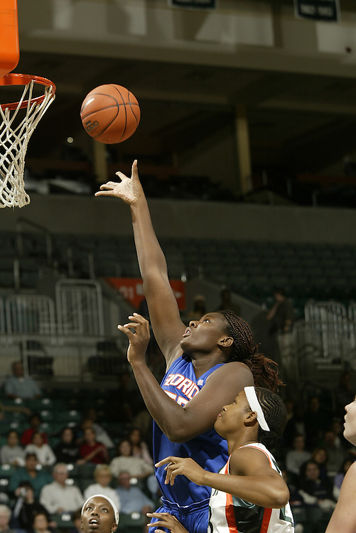 JC Ridley Photos Archive<br /> <br /> 2004 Florida Women's Basketball