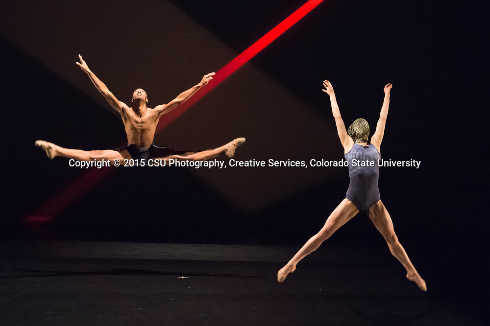 "Guest artists Verb Ballets perform Chung-Fu Chang's ""The Veil"" during the Colorado State University Dance Program's rehearsal of the Fall Dance Concert, November 12, 2015."