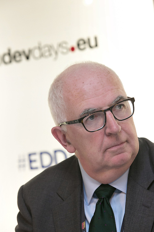 03 June 2015 - Belgium - Brussels - European Development Days - EDD - Inclusion - Banks can serve the bottom billions and create greater economic equality - Gerry Boyle , Senior Policy Adviser, CARE International© European Union