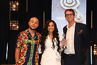 Mabel accept her award during the O2 Silver Clef Awards 2019, Grosvenor House, London, UK, Friday 05 July 2019<br /> Photo JM Enternational