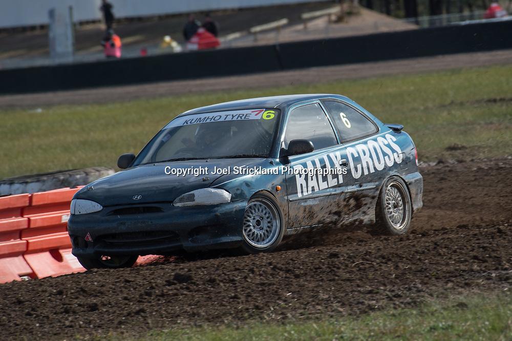 Dan Donnelly, Hyundai Excel - Rallycross Australia - Winton Raceway - 16th July 2017