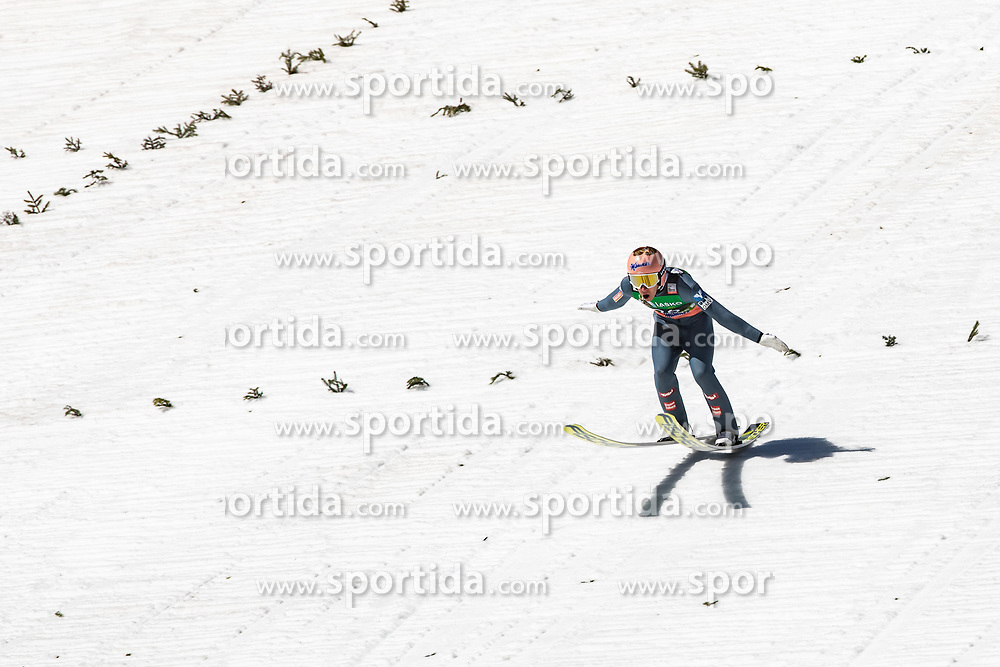 Stefan Kraft (AUT) during the 1st round of the Ski Flying Hill Individual Competition at Day 4 of FIS Ski Jumping World Cup Final 2019, on March 24, 2019 in Planica, Slovenia. Photo Peter Podobnik / Sportida