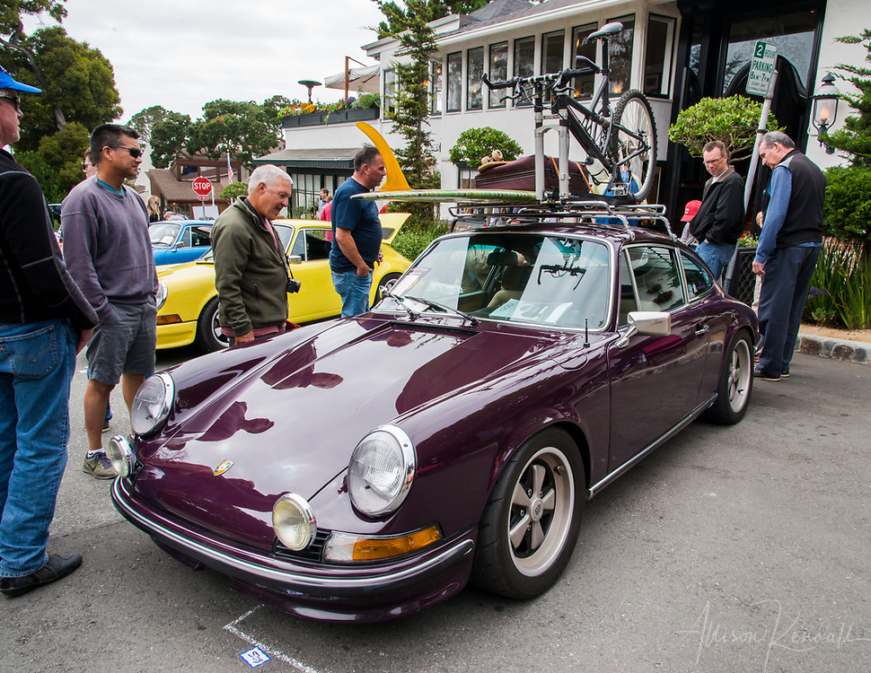 Classic and interesting cars on display at the 2017 Carmel-by-the-Sea Concours on the Avenue