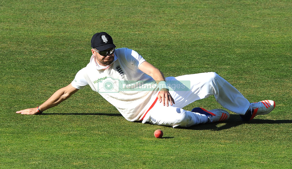 England's James Anderson fields during day five of the 3rd Investec Test Match at Edgbaston, Birmingham.