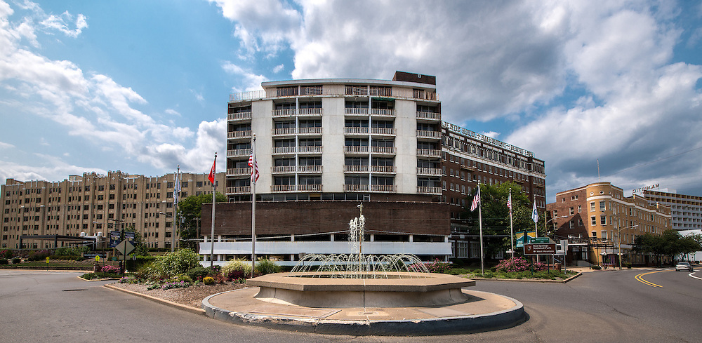 The Majestic Hotel in historic Hot Springs Arkansas. -Walter Arnold Photography 2012