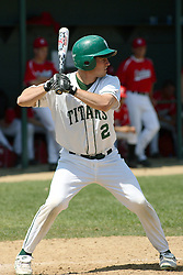 21 April 2007: John Kratzmeyer. Carthage College loses the first game of a double header by a score of 5-2 against the Illinois Wesleyan Titans.