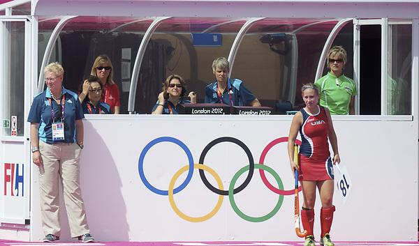 LONDON - Olympische Spelen 2012.women match.Australia v United States.foto:  Edna Rutten..FFU PRESS AGENCY COPYRIGHT FRANK UIJLENBROEK.