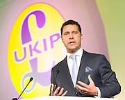 UKIP Annual Party Conference <br /> 26th September 2014 <br /> at Doncaster Racecourse, Great Britain <br /> <br /> <br /> Speeches by <br /> <br /> <br /> Steven Woolfe MEP<br /> <br /> <br /> <br /> Photograph by Elliott Franks <br /> Image licensed to Elliott Franks Photography Services