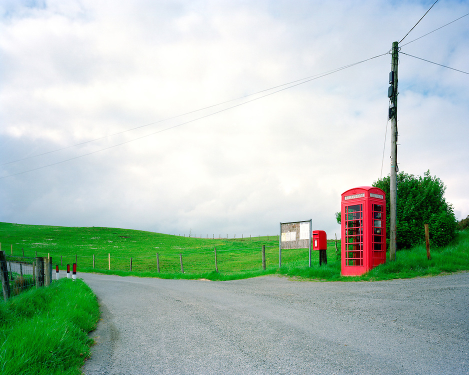 This kiosk is in: Brynafon, Pontrhydygroes, Caredigion, Wales. <br />
