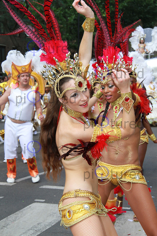 The Notting Hill Carnival, London, UK, 30 August 2010: For piQtured Sales contact: Ian@Piqtured.com +44(0)791 626 2580 (Picture by Richard Goldschmidt/Piqtured)