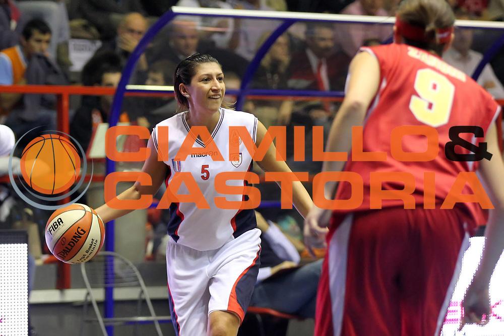 DESCRIZIONE : Cinisello Balsamo Lega A1 Femminile 2010-11 Opening day Cras Taranto Bracco Geas Sesto San Giovanni<br /> GIOCATORE : Valentina Siccardi<br /> SQUADRA : Cras Taranto<br /> EVENTO : Campionato Lega A1 Femminile 2010-2011<br /> GARA : Cras Taranto Bracco Geas Sesto San Giovanni<br /> DATA : 24/10/2010<br /> CATEGORIA :<br /> SPORT : Pallacanestro<br /> AUTORE : Agenzia Ciamillo-Castoria/ElioCastoria<br /> Galleria : Lega Basket Femminile 2010-2011<br /> Fotonotizia : Cinisello Balsamo Lega A1 Femminile 2010-11 Opening day Cras Taranto Bracco Geas Sesto San Giovanni<br /> Predefinita :