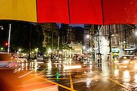 Brasil - Espirito Santo - Vitoria - Chuva no Centro de Vitoria - Foto: Gabriel Lordello/ Mosaico Imagem