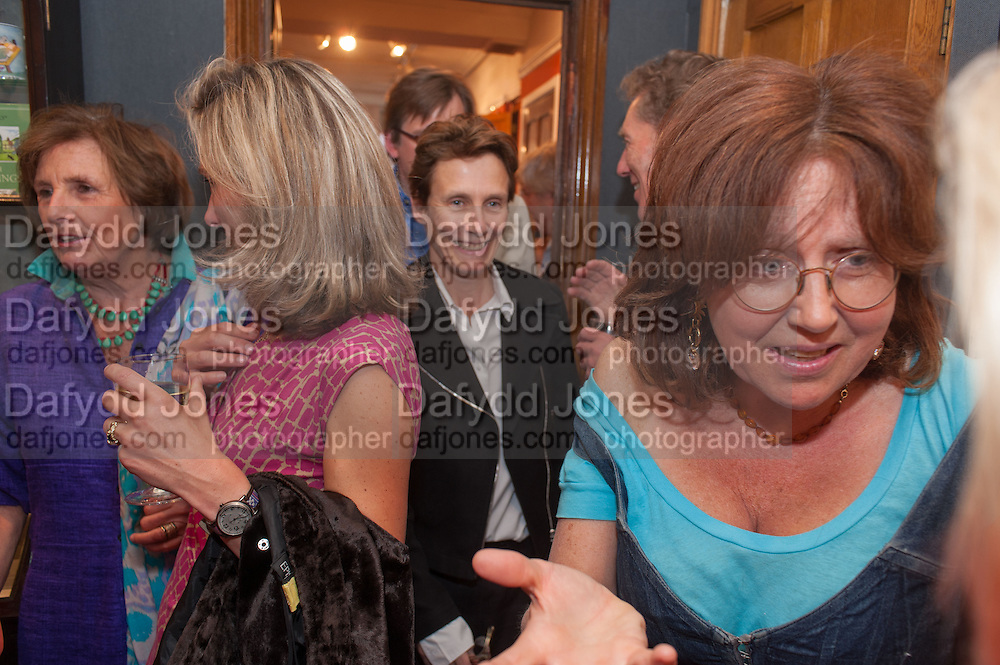 LADY ANNABEL LINDSAY; DAISY WAUGH; SOPHIE HICKS; FRANCES WELCH, Elliott and Thompson host a book launch of How the Queen can Make you Happy by Mary Killen.- Book launch. The O' Shea Gallery. St. James's St. London. 20 June 2012.