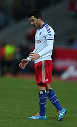 Football: Germany, 1. Bundesliga<br /> Tolgay Arslan (Hamburger SV, HSV)