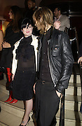 Kelly Osbourne and 'David' Party following the charity premiere ( in aid of the Elton John Aids foundation) of Kinky Boots. titanic  Bar. London.  4 October 2005. . ONE TIME USE ONLY - DO NOT ARCHIVE © Copyright Photograph by Dafydd Jones 66 Stockwell Park Rd. London SW9 0DA Tel 020 7733 0108 www.dafjones.com