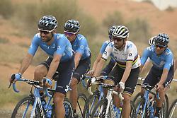 March 1, 2019 - Dubai, Emirati Arabi Uniti - Foto LaPresse - Fabio Ferrari.01 Marzo 2019 Dubai (Emirati Arabi Uniti).Sport Ciclismo.UAE Tour 2019 - Tappa 6 - da Ajman a Jebel Jais - 180 km.Nella foto:VALVERDE Alejandro (ESP) MOVISTAR TEAM..Photo LaPresse - Fabio Ferrari.March 01, 2019 Dubai (United Arab Emirates) .Sport Cycling.UAE Tour 2019 - Stage 6 - From Ajman To Jebel Jais  - 112 miles..In the pic: VALVERDE Alejandro (ESP) MOVISTAR TEAM (Credit Image: © Fabio Ferrari/Lapresse via ZUMA Press)
