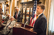 U.S. Senator Ben Sasse speaks to guests at a Let's Talk Life, Marriage and Religious Liberty event on Tuesday, September 8, 2015, a the Capitol Hill Club in Washington, D.C. LCMS Communications/Erik M. Lunsford