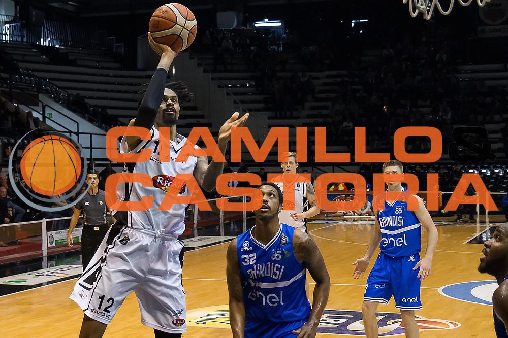 Raphiael Putney<br /> Pasta Reggia Caserta - Enel Brindisi<br /> Lega Basket Serie A 2016/2017<br /> Caserta 23/04/2017<br /> Foto Ciamillo-Castoria