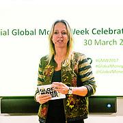 NLD/Amsterdam/20170330 - Koningin Maxima aanwezig bij de Global Money Week, Floortje Dessing