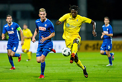 Shamar Nicolson of NK Domzale during 2nd leg football match between NK Domzale and NK Siroki Brijeg in 1st Qualifying round of UEFA Europa League, on July 19, 2018 in Domzale Sports Park, Domzale, Slovenia. Photo by Ziga Zupan / Sportida