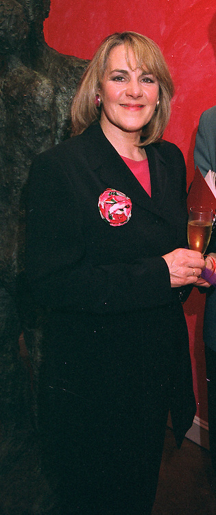 TV writer NINA MYSCOW at an exhibition in London on 27th October 1997. <br /> MCL 17 WO