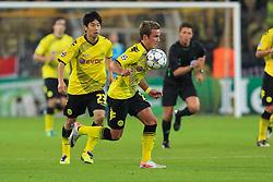 13.09.2011, Signal Iduna Park, Dortmund, GER, UEFA CL, Gruppe F, Borussia Dortmund (GER) vs Arsenal London (ENG), im Bild.Mario Götze (Dortmund #11)..// during the UEFA CL, group F, Borussia Dortmund (GER) vs Arsenal London on 2011/09/13, at Signal Iduna Park, Dortmund, Germany. EXPA Pictures © 2011, PhotoCredit: EXPA/ nph/  Mueller       ****** out of GER / CRO  / BEL ******