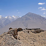 Remains of fort overlooking the strategic Wakhan Valley