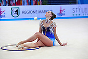 Katsiaryna Halkina from Belarus, she was born in Minks in 1997.Halkina went to the 2016 Olympics in Rio de Janeiro obtaining the sixth place.