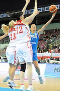 DESCRIZIONE : Riga Latvia Lettonia Eurobasket Women 2009 Qualifying Round Russia Italia Russia Italy<br /> GIOCATORE : Maria Chiara Franchini<br /> SQUADRA : Italia Italy<br /> EVENTO : Eurobasket Women 2009 Campionati Europei Donne 2009 <br /> GARA : Russia Italia Russia Italy<br /> DATA : 14/06/2009 <br /> CATEGORIA : tiro<br /> SPORT : Pallacanestro <br /> AUTORE : Agenzia Ciamillo-Castoria/M.Marchi<br /> Galleria : Eurobasket Women 2009 <br /> Fotonotizia : Riga Latvia Lettonia Eurobasket Women 2009 Qualifying Round Russia Italia Russia Italy<br /> Predefinita :