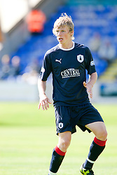 Falkirk's Stephen Kingsley..Brechin City 1 v 2 Falkirk, The Ramsden Cup..©Pic : Michael Schofield.