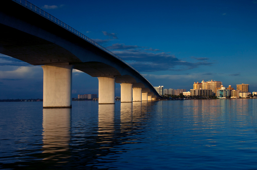 Ringling Causeway Bridge, Sarasota, Florida