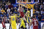 DESCRIZIONE : Porto San Giorgio Lega serie A 2013/14  Sutor Montegranaro Varese<br /> GIOCATORE : Achille Polonara<br /> CATEGORIA : controcampo schiacciata<br /> SQUADRA : Pallacanestro Varese<br /> EVENTO : Campionato Lega Serie A 2013-2014<br /> GARA : Sutor Montegranaro Pallacanestro Varese<br /> DATA : 23/11/2013<br /> SPORT : Pallacanestro<br /> AUTORE : Agenzia Ciamillo-Castoria/M.Greco<br /> Galleria : Lega Seria A 2013-2014<br /> Fotonotizia : Porto San Giorgio  Lega serie A 2013/14 Sutor Montegranaro Varese<br /> Predefinita :