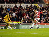 20111020: STOKE ON TRENT, ENGLAND - UEFA Europe League Group E: Stoke City vs Maccabi Tel-aviv.<br />