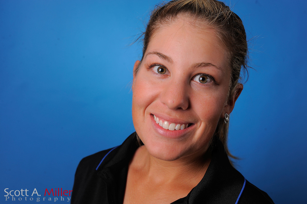 Sara Hurwitch during a portrait session prior to the second stage of LPGA Qualifying School at the Plantation Golf and Country Club on Sept. 25, 2011 in Venice, FL...©2011 Scott A. Miller