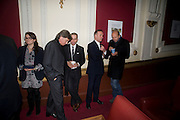 RICHARD CARING; JONATHAN NEWHOUSE; NICK BROOMFIELD; ERIC FELNER, David Tang and Nick Broomfield host  a reception and screening of Ghosts. On the Fifth anniversary of the Morecambe Bay Tragedy to  benefit the Morecambe Bay Children's Fund. The Electric Cinema. Portobello Rd. London W11. 5 February 2009 *** Local Caption *** -DO NOT ARCHIVE -Copyright Photograph by Dafydd Jones. 248 Clapham Rd. London SW9 0PZ. Tel 0207 820 0771. www.dafjones.com<br /> RICHARD CARING; JONATHAN NEWHOUSE; NICK BROOMFIELD; ERIC FELNER, David Tang and Nick Broomfield host  a reception and screening of Ghosts. On the Fifth anniversary of the Morecambe Bay Tragedy to  benefit the Morecambe Bay Children's Fund. The Electric Cinema. Portobello Rd. London W11. 5 February 2009