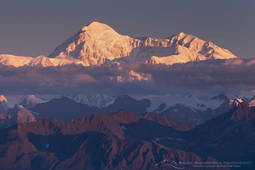 Denali (Mount McKinley) 6,193.6metres (20,320ft)