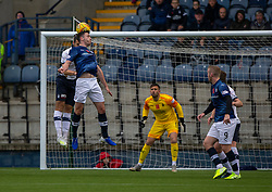 Raith Rovers Michael Miller scoring their first goal. Raith Rovers 2 v 2 Falkirk, Scottish Football League Division One played 5/9/2019 at Stark's Park, Kirkcaldy.
