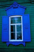 Russie - Siberie - Irkoutsk - Fenêtre