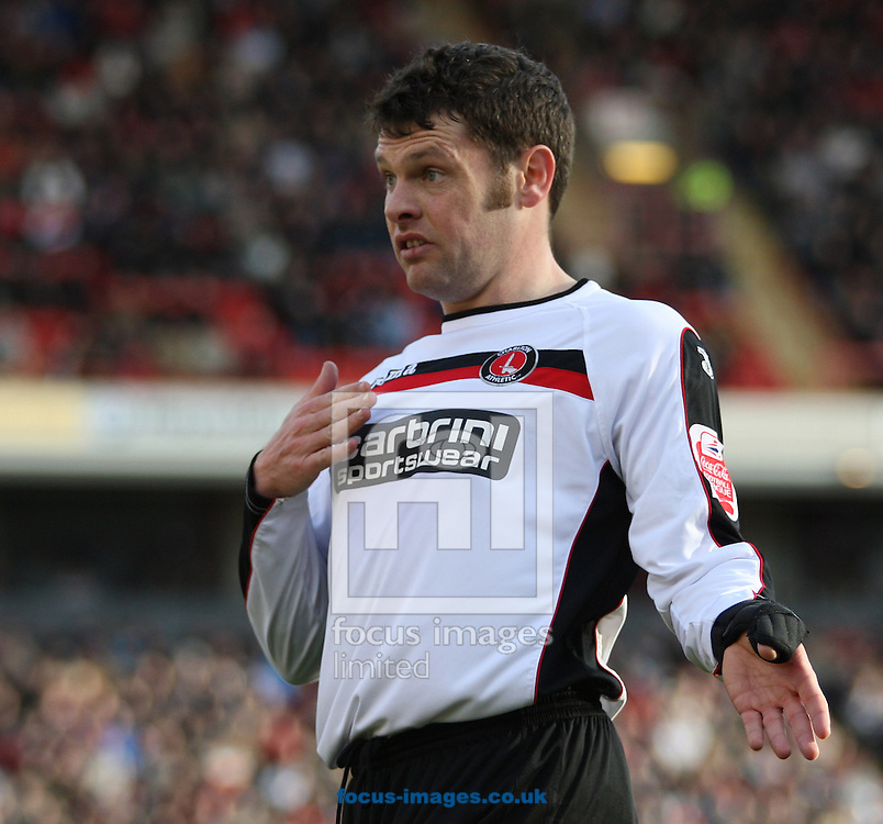 Barnsley - Saturday 21st February 2009 : Graeme Murty of Charlton Athletic in action during the Coca Cola Championship match at Oakwell, Barnsley. (Pic by Steven Price/Focus Images)