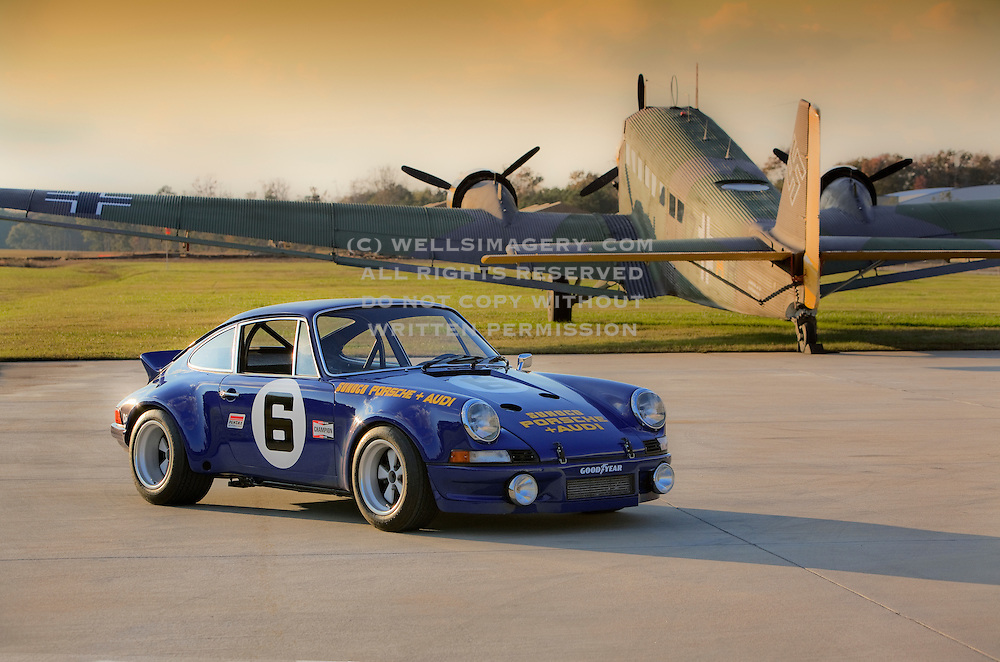 sports cars in unusual locations sports cars and airplanes sports