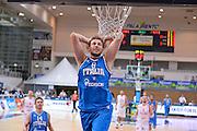 09082013 TRENTO - TRENTINO BASKET CUP - ITALIA POLONIA<br /> NELLA FOTO : mancinelli<br /> FOTO CIAMILLO