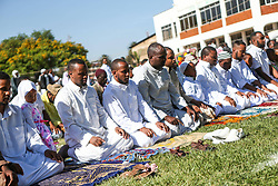 60599853<br /> Kenyan Muslims attend Eid al-Adha prayers at Sir Ali Muslim Club in Nairobi, capital of Kenya, Oct. 15, 2013. Muslims across the world celebrate the festival of Eid al-Adha, or the Festival of Sacrifice, in commemoration of Prophet Abraham s readiness to sacrifice his son to show obedience to God, Tuesday October. 15, 2013. Picture by imago /  i-Images<br /> UK ONLY